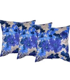 Buy Set of 3 satin slk Cushion Cover pillow-cover online