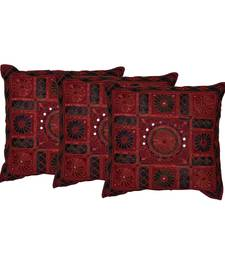 Set of 3 Mirror work Cushion Cover