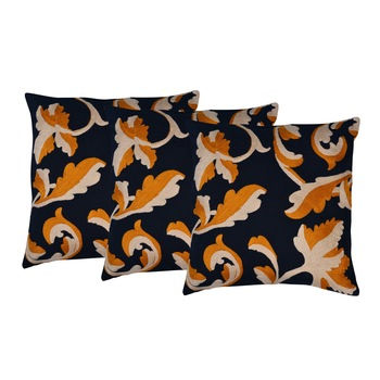 Set of 3 Cotton Cushion Cover 18x18