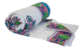 Jaipuri Blanket Single Size Quilt By Reme For Single Bed