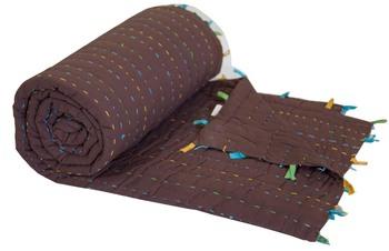 Jaipuri Quilt Cotton Blanket By Reme