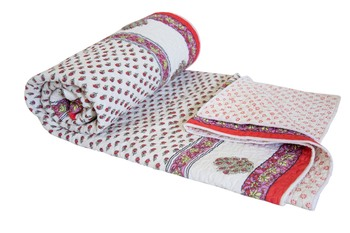 Jaipuri Razai Cotton Quilt Blanket For Winters By Reme