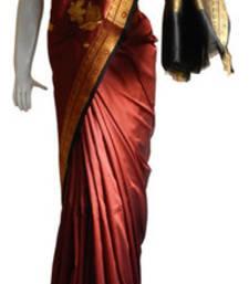 Buy Brown  Banarasi Silk Saree  3010-2259 banarasi-silk-saree online