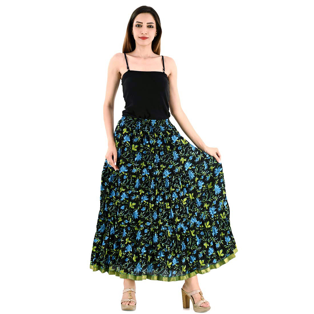 2a124a90b Printed Cotton Long Skirts Online