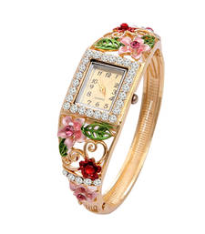 Buy Multicolor cubic zirconia bracelets women-ethnic-wear online