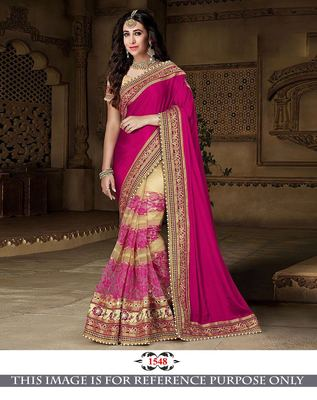 431b3c4513926f Buy Multicolor embroidered georgette saree with blouse Online