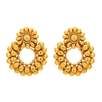 Gold Plated Royal Karry Designed Traditional Earring