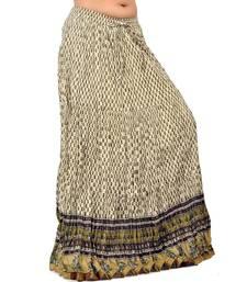 Buy Off White Rajasthani Designer lehanga Skirt skirt online