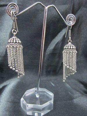 German Silver Jhumkis