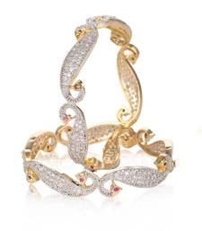 Buy White cubic zirconia bangles-and-bracelets bangles-and-bracelet online