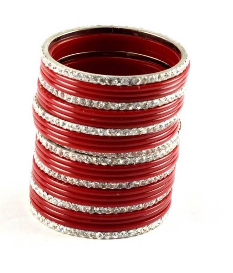 Red Bangles Set