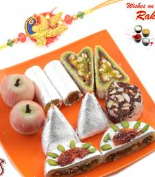 Buy Rakhi sweets online Assorted Kajoo Sweets rakhi-gifts-for-sister online