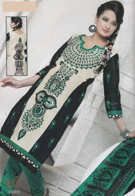 Dress Material Cotton Designer Prints Unstitched Salwar Kameez Suit D.No 10006