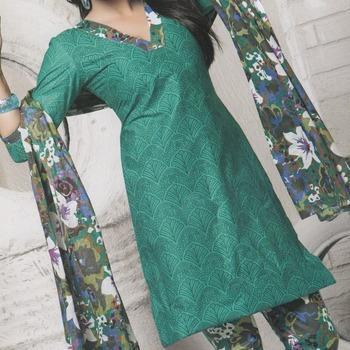 Dress Material Cotton Designer Prints Unstitched Salwar Kameez Suit D.No 10013