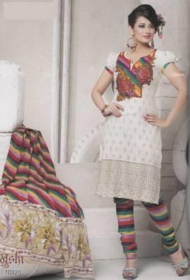 Dress Material Cotton Designer Prints Unstitched Salwar Kameez Suit D.No 10020