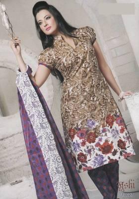 Dress Material Cotton Designer Prints Unstitched Salwar Kameez Suit D.No 10027
