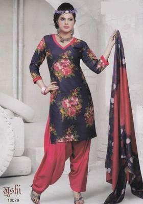 Dress Material Cotton Designer Prints Unstitched Salwar Kameez Suit D.No 10029
