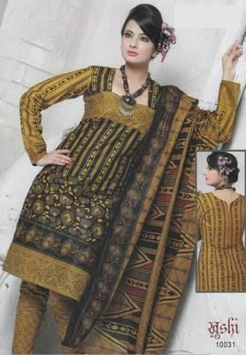 Dress Material Cotton Designer Prints Unstitched Salwar Kameez Suit D.No 10031