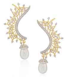 Buy Multicolor pearl ear-cuffs ear-cuff online