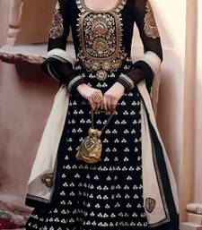 Adah Black Color Designer Anarkali Salwar Kameez .100-501C shop online