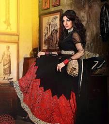 Buy Black Anarkali Suit anarkali-salwar-kameez online