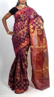 Georgette Banarasi Zari Work Saree