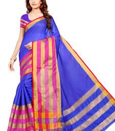 Buy Multicolor woven manipuri silk saree with blouse manipuri-silk-saree online