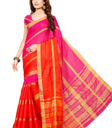 Buy Multicolor woven Manipuri cotton silk saree with blouse manipuri-silk-saree online