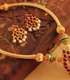Buy SPLENDID ANTIQUE HANDMADE KEMP NECKLACE SET -DJ08350(1) necklace-set online