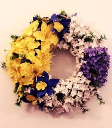 Buy Artificial flower Wreath artificial-flower online