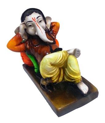 Ganesha Listening to Walkman