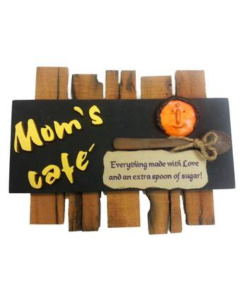 Moms Cafe - Kitchen Name Plate