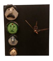 Buy Family Mask Wall Clock new-year-gift online