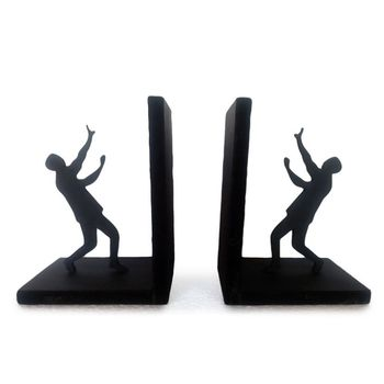 Holding Men Book End Table Top