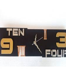 Buy Horizontal Wall Clock Wall Hanging wall-clock online