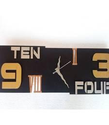 Buy Horizontal Wall Clock Wall Hanging wall-clock online