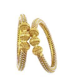 Beautiful pearls bangles