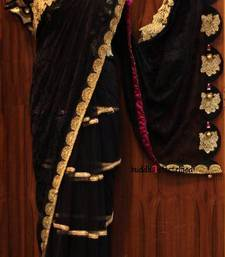 Black Pigeon Saree shop online