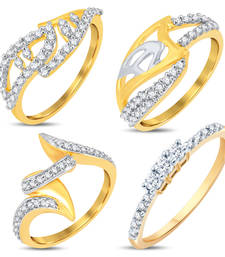 Buy Astonish Gold & Rhodium Plated Alloy Combo For Women jewellery-combo online