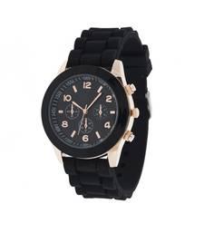 Buy Black quartzwatches watch online
