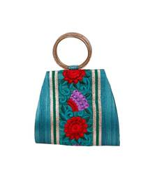 Buy Ethnic Floral work Potli potli-bag online