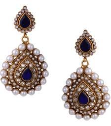 Multicolor pearl danglers-drops