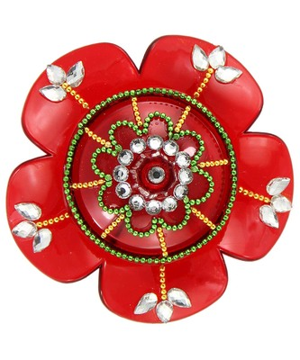 Handmade Acrylic Haldi Kumkum And Sindoor Dani For Gifts