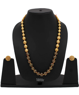 gold plated necklace sets