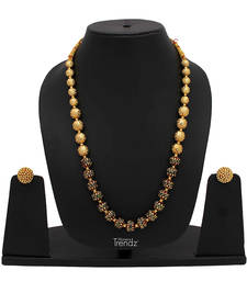 Buy gold plated necklace sets women-ethnic-wear online