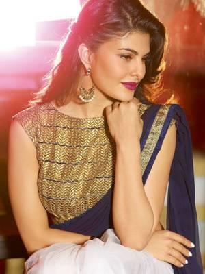 7f991576d1 Jacqueline indian traditional bollywood saree, designer saree, party wear  saree, facny saree. - Try n Get - 245974