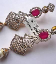 Buy Vatika AD Earrings -DSC04706 danglers-drop online