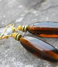 Buy Bar of Brown Earrings danglers-drop online