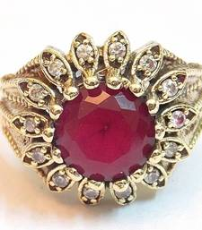 Buy Classic victorian style colored stone ring Ring online