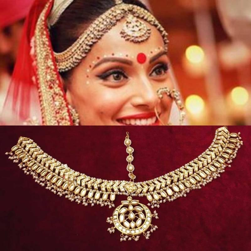 Buy Bipasha Basu Inspired Kundan Matha Patti Online